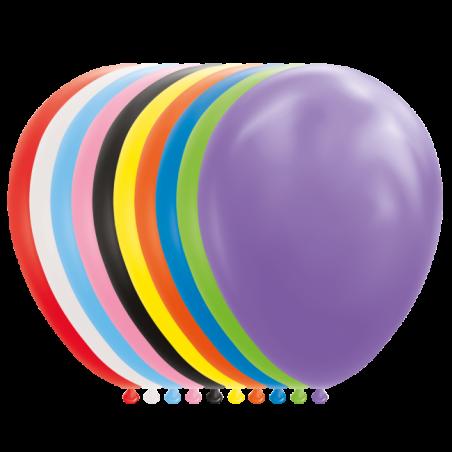 """Balloner 12"""" / 30 cm balloner 25 stk - 1055"""