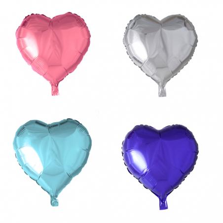 """Hjerte ballon i folie 18"""" - 1070"""