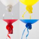 Ballonsnor autolukning 100 stk. Snor og bånd