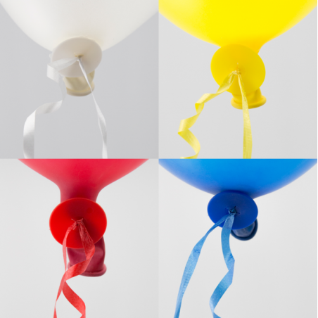 Ballonsnor autolukning 100 stk. - 1073
