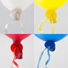 Ballonsnor autolukning 100 stk.