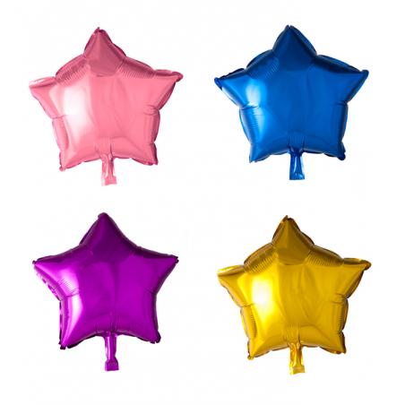 """Stjerne 18"""" Folie ballon - 1076"""