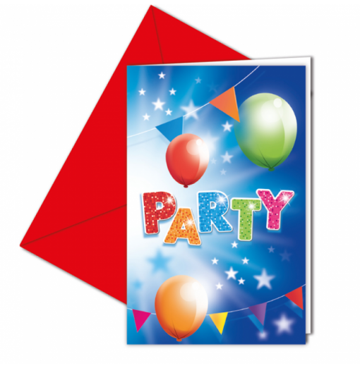 Invitationer - Party
