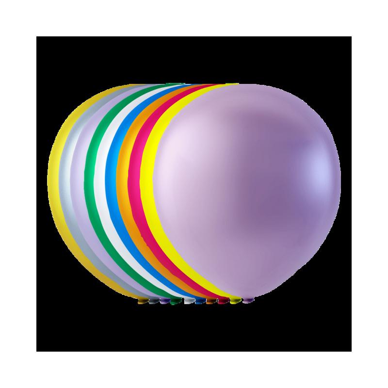 Store Pearl balloner / 100 stk. 30 cm