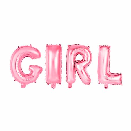 Girl folie ballon - 292