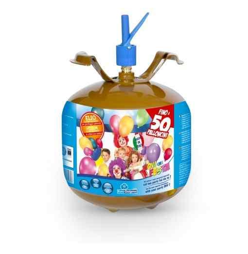 Helium ballongas til 50 balloner - 414 liter mellem