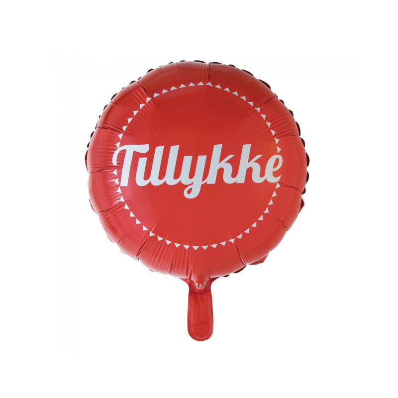 Tillykke folieballon Fødselsdag