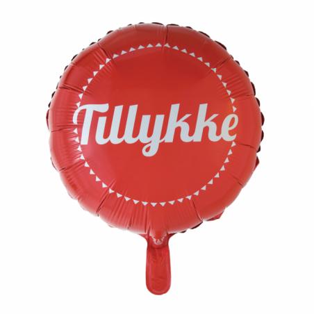 Tillykke folieballon - 548