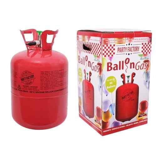 Helium ballongas til 50 balloner - 400 liter