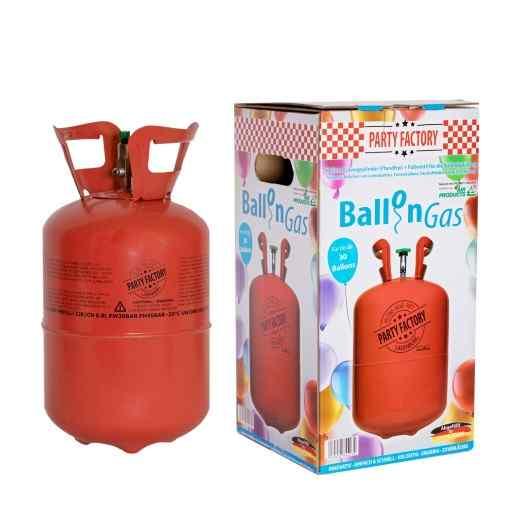 Helium ballongas til 30 balloner - 210 liter