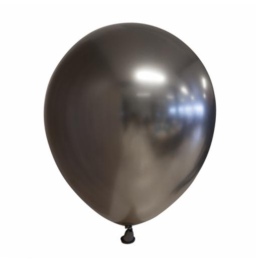 """Premium Chrome 12"""" / 30 cm balloner - 10 stk"""