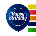 """Happy Birthday"" balloner 10'' 10 stk Fødselsdag"