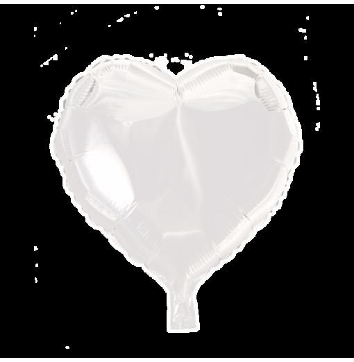 """Hjerte ballon i folie 18"""" Hjerte Balloner"""