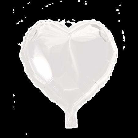 """Hjerte ballon i folie 18"""" - 667"""