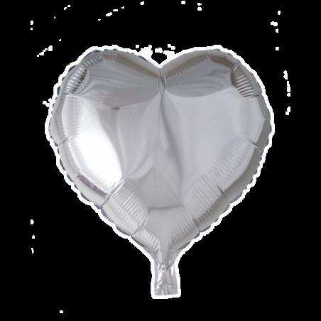 """Hjerte ballon i folie 18"""" - 668"""