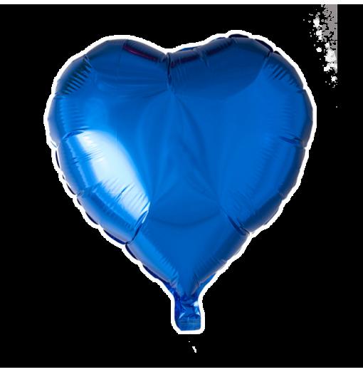 """Hjerte ballon i folie 18"""""""