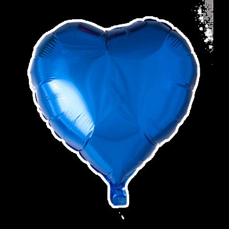 """Hjerte ballon i folie 18"""" - 670"""