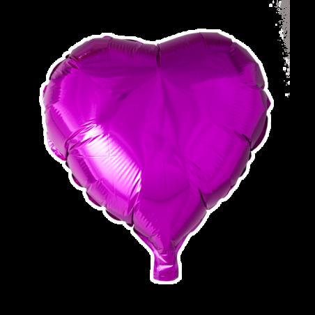 """Hjerte ballon i folie 18"""" - 671"""