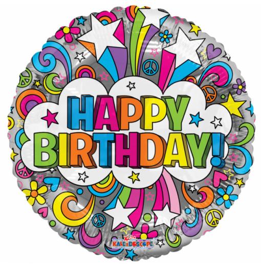 """Happy Birthday 18"""" Groovie Fødselsdag"""