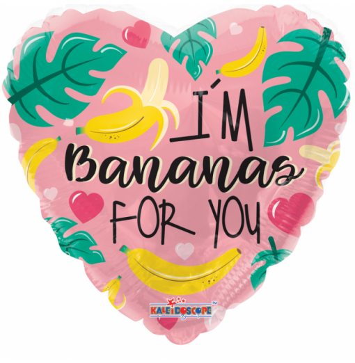 I'm bananas for you 18""