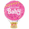 "Welcome Baby 18"" Folie balloner"