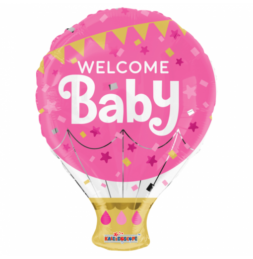 "Welcome Baby 18"" Folie balloner"