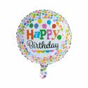 "Happy Birthday 18"" dots Fødselsdag"
