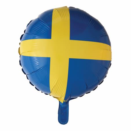 """Svensk flag 18"""" - 707"""