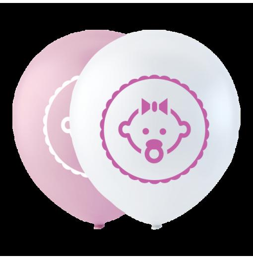"""Datter ballon pink 10"""""""