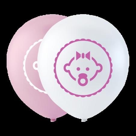 """Datter ballon pink 10"""" - 729"""