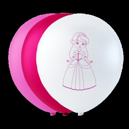 "Prinsesse balloner 10"" - 731"