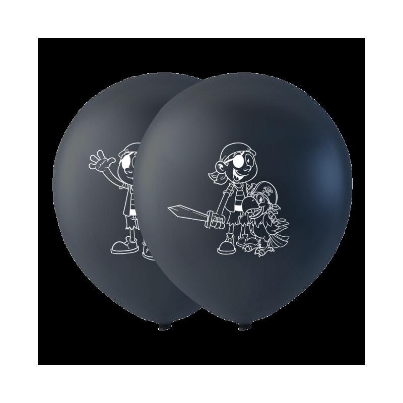 """Pirat balloner 10"""" Balloner med print"""
