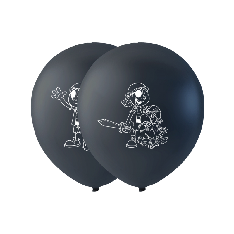 "Pirat balloner 10"""