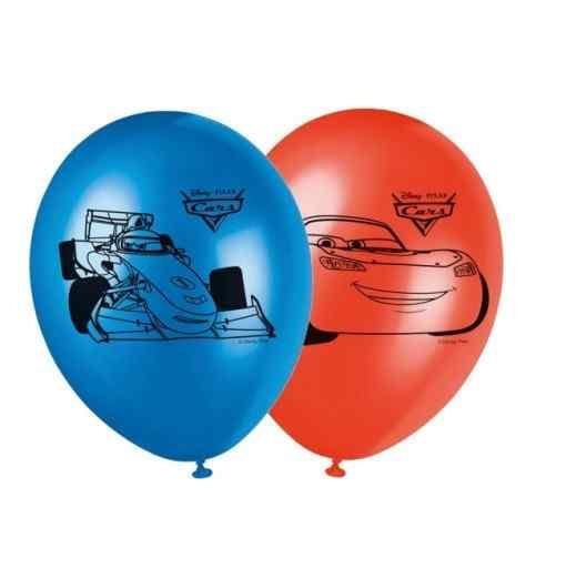 """Biler balloner 11"""" Balloner med print"""