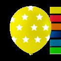 """Stjerne balloner 10"""" Balloner med print"""
