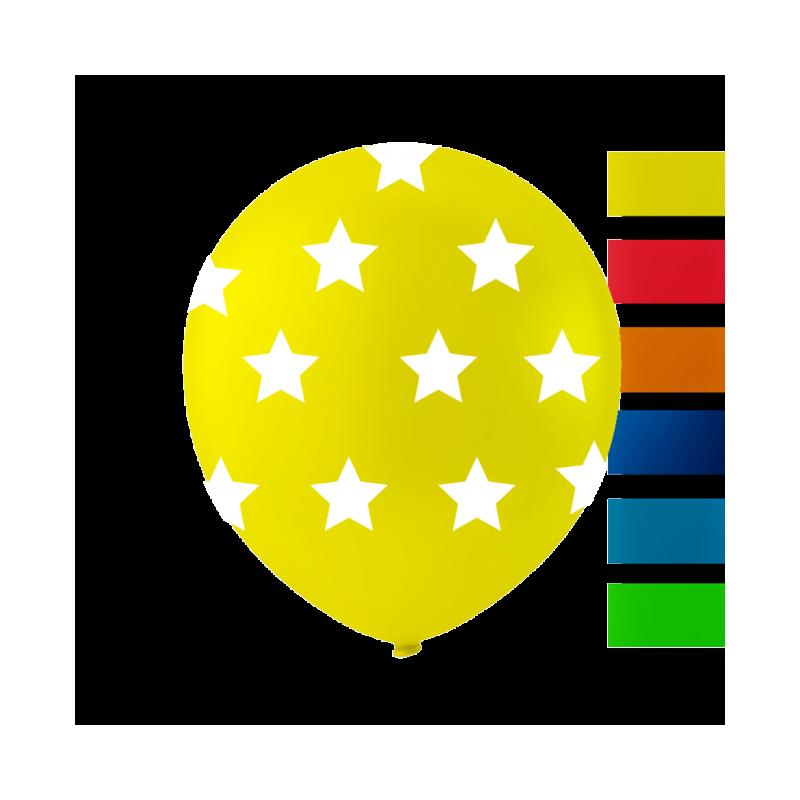 """Stjerne balloner 10"""""""