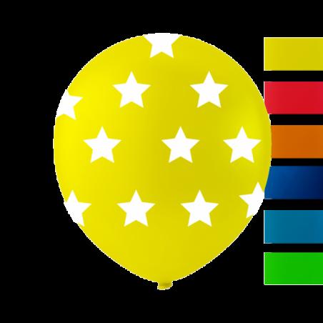 """Stjerne balloner 10"""" - 751"""