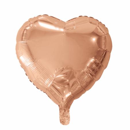 """Hjerte ballon i folie 18"""" - 753"""