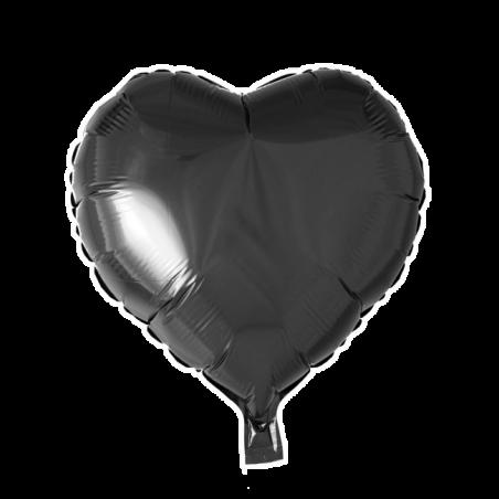 """Hjerte ballon i folie 18"""" - 754"""