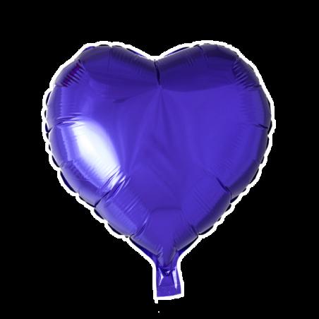 """Hjerte ballon i folie 18"""" - 755"""