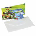 Invitationer med Ninja Turtles