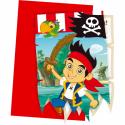 Invitationer med Jake og piraterne