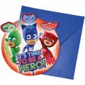 Invitationer med Pyjamas heltene