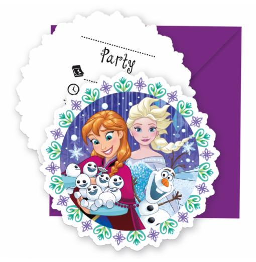 Invitationer med Frost
