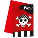 Invitationer med pirater