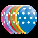 """Prikker balloner 12"""" Balloner med print"""