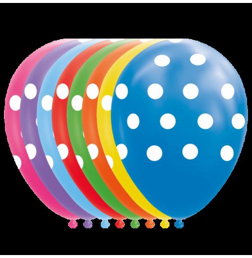 """Prikker balloner 12"""""""