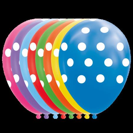"""Prikker balloner 12"""" - 773"""