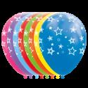 """Stjerne balloner 12"""" Balloner med print"""