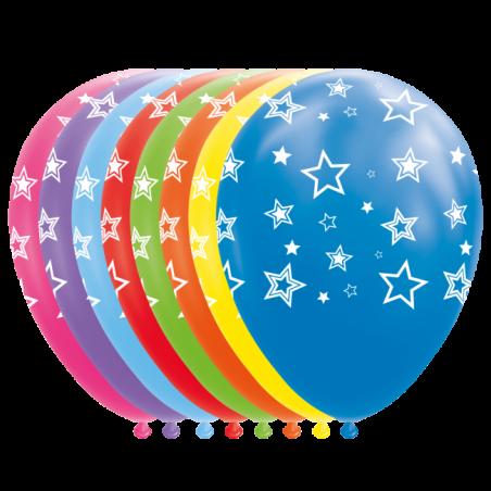 """Stjerne balloner 12"""" - 774"""